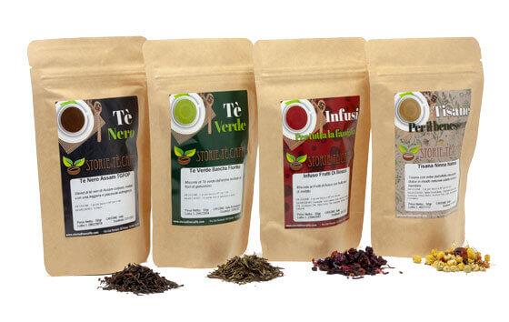 confezionamento tè